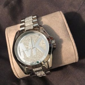 Michael Kors unisex bling watch